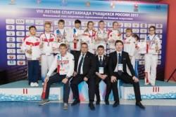 С 16 по 19 ноября в г. Сочи прошли финальные соревнования VIII Спартакиады учащихся.