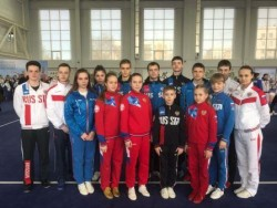 В Москве в «Московском дворце ушу» с 26 по 31 марта проходил Чемпионат и Первенство России по традиционному ушу.